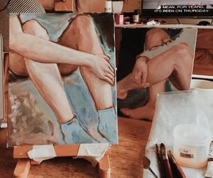 aesthetics, heavenly, and painting image