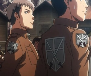 anime, jean kirschtein, and otp image