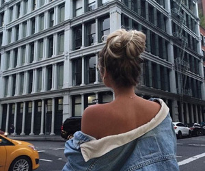 girl, fashion, and goals image