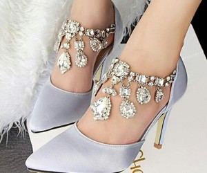 style, heels, and shoes image
