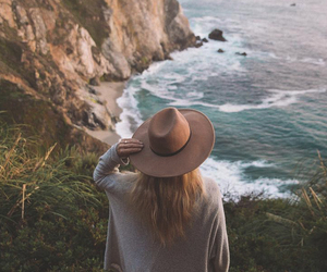 fashion, nature, and ocean image