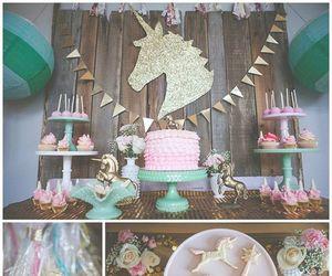 unicorn and party image