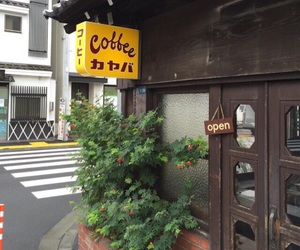cafe, coffee, and japan image