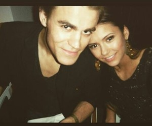 the vampire diaries, paul wesley, and Nina Dobrev image