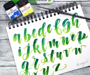 art, calligraphy, and lettering image