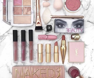 goals, luxury, and makeup image