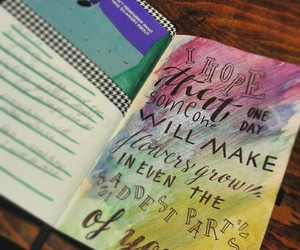 journal, journaling, and quotes image