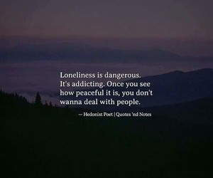 loneliness and people image