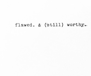 quotes, flaws, and love image
