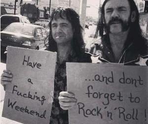 weekend, rock, and rock n roll image