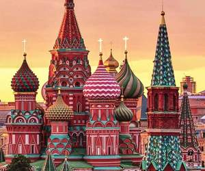 travel, moscow, and russia image