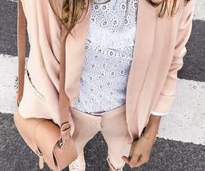 chic, pink, and fashion image