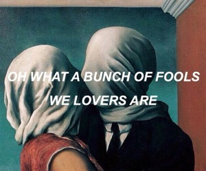 love, fool, and lovers image