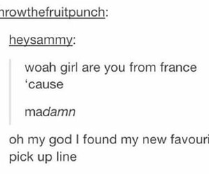 france, funny, and tumblr image