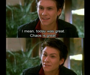 chaos, Heathers, and christian slater image