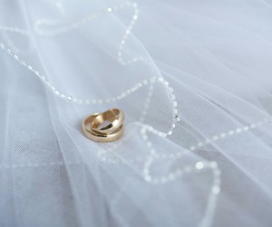 love, wedding, and wedding bands image