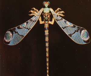 dragonfly, art, and lalique image