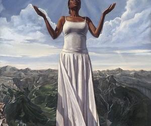 art, dress, and god image