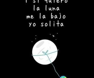 frases, luna, and sola image
