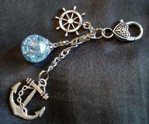accessories, anchor, and blue image