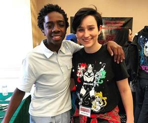 scream, stranger things, and caleb mclaughlin image