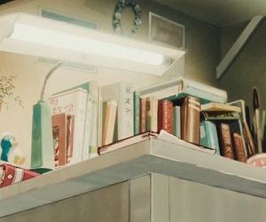 studio ghibli, book, and japan image