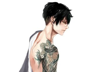 anime, tattoo, and levi image