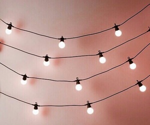 light, pink, and aesthetic image