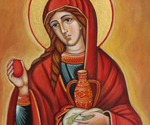 etsy, Mary Magdalene, and religious icon image