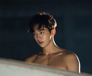 boys, damn, and shirtless image