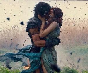 couple, kiss, and pompeii image