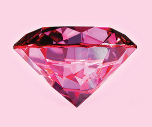 diamond, pink, and wallpaper image