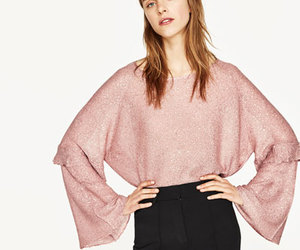 blouse, glitter, and pants image