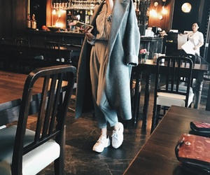 cafe, classic, and coat image