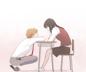 anime, boy, and friendship image