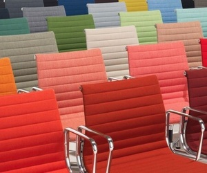 bright, chairs, and colours image
