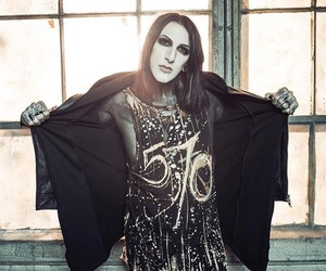 motionless in white, chris motionless, and music image