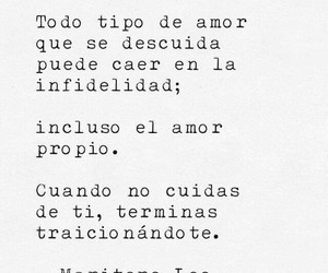 love, ​amor, and frases image