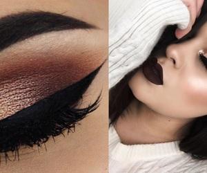 beauty, bold, and eyeshadow image