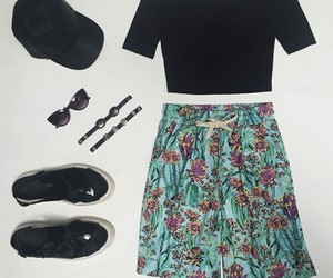 flores, flowers, and outfits image
