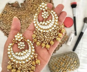 jewelry, traditional jewelry, and ear rings image