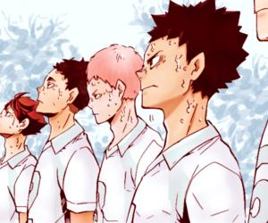 manga, haikyuu, and aoba jousai image