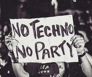 music and techno image