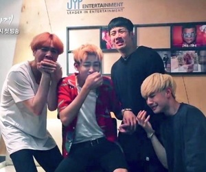 funny, yugyeom, and k-pop image