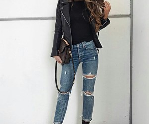 fashion, ootd, and jeans image