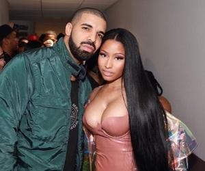 Drake, onika maraj, and queen of rap image