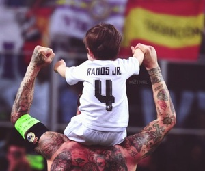 real madrid, sergio ramos, and hala madrid image