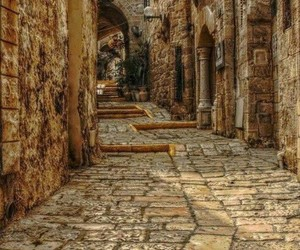 street, Greece, and travel image