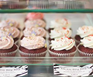 food, cupcake, and cake image