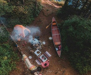 nature, adventure, and camping image